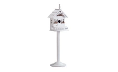 Freestanding Victorian Birdhouse (Goods For The Home Patio & Garden Bird Feeders & Food) photo