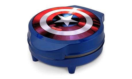 Marvel Captain America Shield Waffle Maker 9744380d-0918-402c-a60b-0367145ffa41
