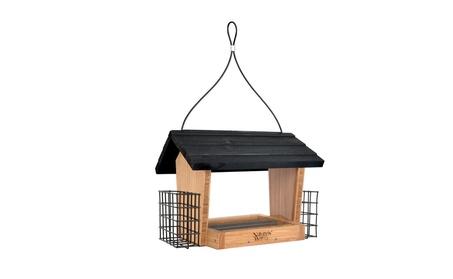 Natures Way NWBWF19 Bamboo 6 Qt Hopper Feeder with Suet (Goods Pet Supplies Bird Supplies) photo