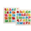 Wooden Hand Board Puzzle Early Education Enlightenment  Digital Puzzle