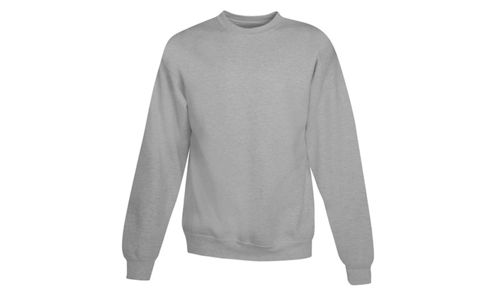 Hanes ComfortBlend Long Sleeve Fleece Crew P160-2