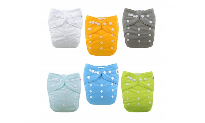ALVA Baby Clothes Diapers One Size Pocket Reusable Washable Nappy 1 Insert