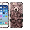 Insten Tuff Four Leaf Clover Hard Silicone Case For Iphone 6 6s Black