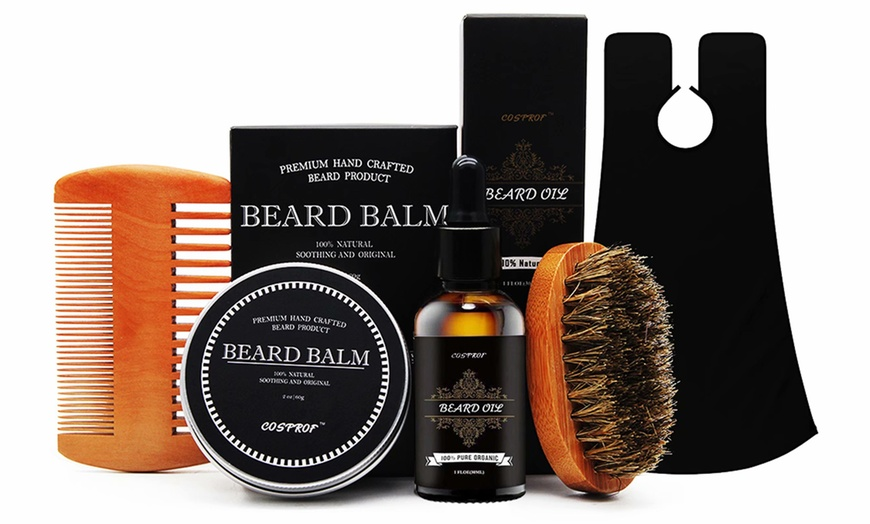Up To 70 Off On Beard Grooming Trimming Kit Groupon Goods