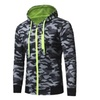 Military Camouflage Coat Hooded Sweater