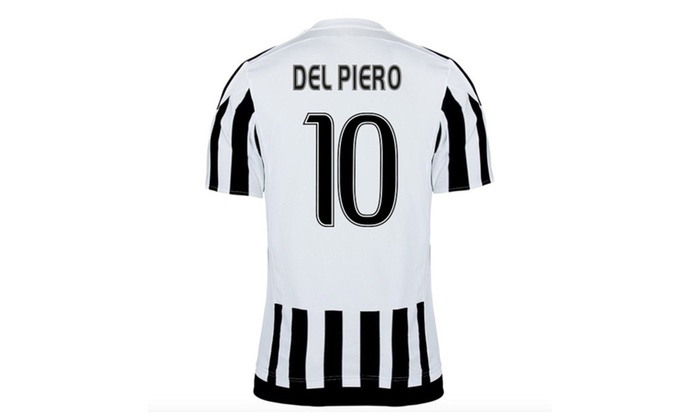 new style 051fe cd501 Mens Juventus Fc Home Jersey Del Piero 10