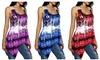 Women Fashion Heart Print Tanks Tops Sleeveless Shirt Tops. Plus Sizes Available