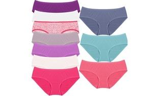 10-Pack Fruit of the Loom Women's Panties