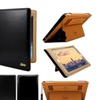 iPad Folio Case 2/3/4 Black/Brown/Red Smart Ultra Thin Leather Cover