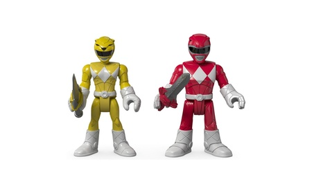 Fisher-Price Imaginext Power Rangers Red Ranger & Yellow Ranger Figure d2d6791b-50e2-457b-89e8-e10348dbb7d6