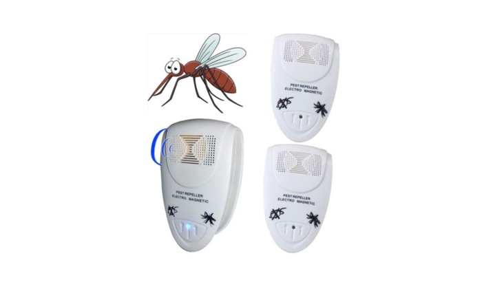 New Ultrasonic Electronic Anti Mosquito Mice Pest Bug AC Wall Repeller