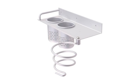 New Hair Dryer Stand Storage Organizer Wall Mounted Bathroom Set d3707db3-3c25-4657-b6fb-b0f6298ee165