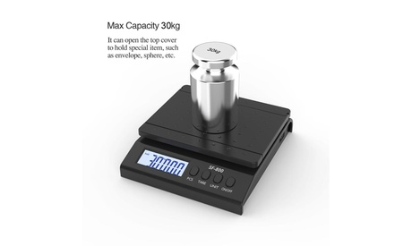 66lb/30kg High Precision LCD Digital Postal Shipping Scale Kitchen Scale