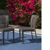 Bonnie PE Wicker Dining Chair Set (2- or 4-Pack)