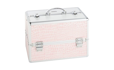 "Beautify Large Cosmetic Organizer Case - 14"" Professional 710e66a7-e892-41dc-a927-bebab01d20bb"
