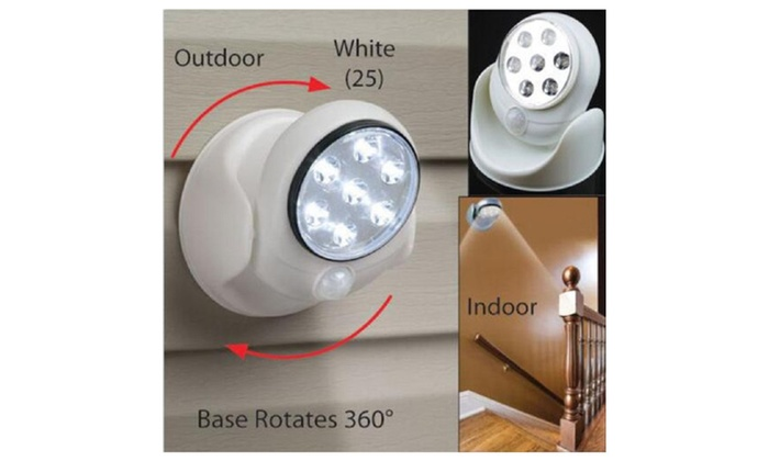 Motion Activated Indoor Outdoor Closet Cordless Security Led Light