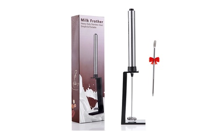 Electric Handheld Milk Frother Stainless Steel With Latte Art Pen fb67cf29-dab4-4ab5-9b2b-df4c4c37f530
