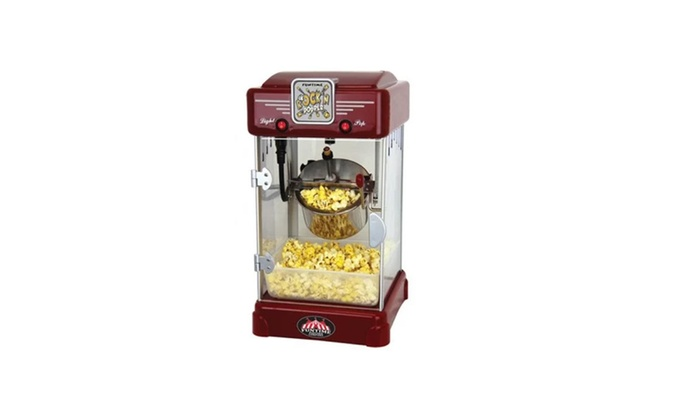 Tabletop Kettle Popcorn Machine ...