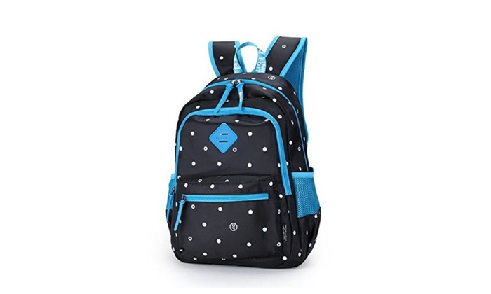 ZIGUO Canvas Backpacks School Back Packs Backpack Shoulder Daypack for Boys & Girls