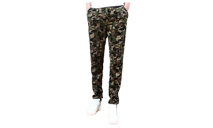 Men Newest Arrival Camouflage Military Casual Harem Pants