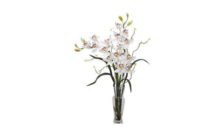 Nearly Natural Cymbidium Silk Flower Arrangement b7282b6d-28f1-4f9e-8939-3181a4a3088a