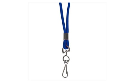 C-Line Products 89315BNDL48EA Standard Lanyard Swivel Hook Blue 1f2b17bf-70ce-4431-b2d1-d47be1b19baf