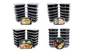 30-Piece Closeout Meal Prep Lunch Box Set with Lids