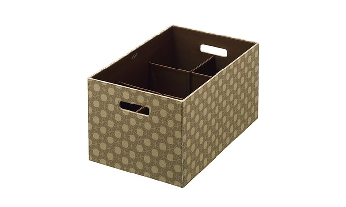 Charmant Rubbermaid 1789283 Storage Box With Flex Dividers, Extra Large ...