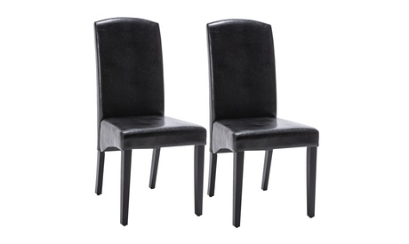 2PC Modern Dining Chairs Set - Art Collection