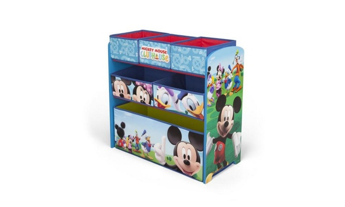 Mickey Mouse Multi Bin Toy Organizer Groupon