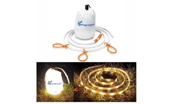 Vansky Portable LED String Light for Camping, Hiking, Safety,Emergency