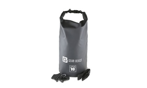 Gear Beast Roll-Top Waterproof Dry Bag Compression Sack (10, 20 or 30 Liter)