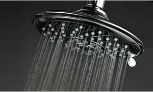 "HotelSpa 6-Setting 6"" Rainfall Showerhead"