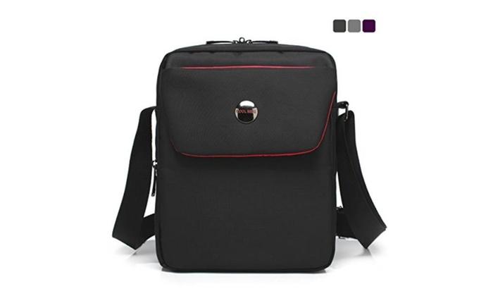 Fabric messenger bag iPad carrying case Hand bag