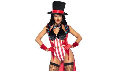 Leg Avenue Women's Ring Mistress Sexy Circus Costume