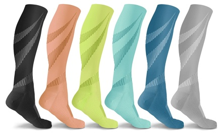 DCF Elite Lightweight Compression Socks (6 Pairs) Was: $79.99 Now: $13.99