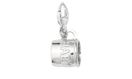 Sterling Silver Women's BABY CUP Clip-on Charm f76def23-b999-46c9-a943-e2a34f8b69ce