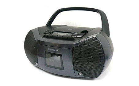 Memorex Flexbeat MixBox 2.4W MP3261 CD/AM/FM/Cassette Recorder Boombox de188f8a-295e-40b7-bd32-70327678e938