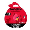 EMTEC Angry Birds 8GB Flash Drive USB Memory Portable Key Chain Strap