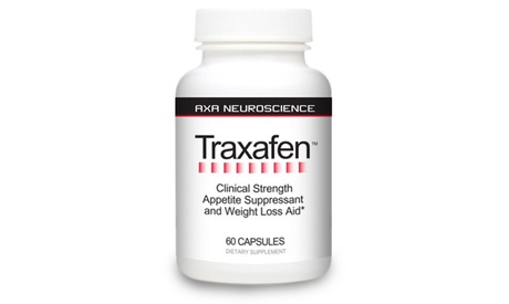 Traxafen Appetite Suppressant and Weight Loss Aid (60 ct)