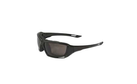 Black Frame Safety Glasses with Smoke Anti Fog Lens 8725bbb3-a380-4952-9562-d7dbc335ae6e