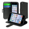Insten Leather Wallet Case With Card Holder Ipod Touch 5 5th Gen Black