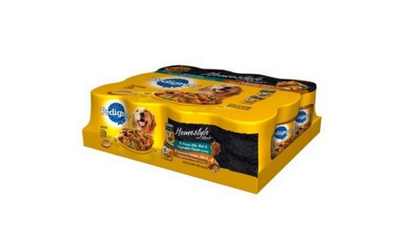 Pedigree Homestyle Meals Prime Rib and Roasted Chicken, 13.2 Oz, 12 Ct 9fe5e0db-d8b0-46f5-aa5d-27e0c2e55f69