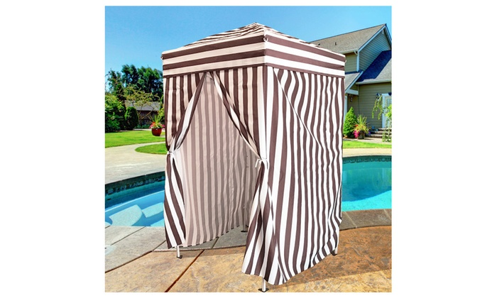 ... Dailyselections Apontus Portable Changing Cabana Stripe Privacy Tent  sc 1 st  Groupon & Apontus Portable Changing Cabana Stripe Privacy Tent | Groupon