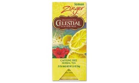 Celestial Seasonings. 031010 Tea Herbal Lemon Zinger 25-Box