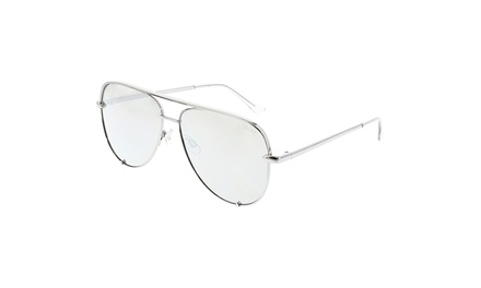 Line Drawing Glasses : Quay women s desi high key sunglasses groupon