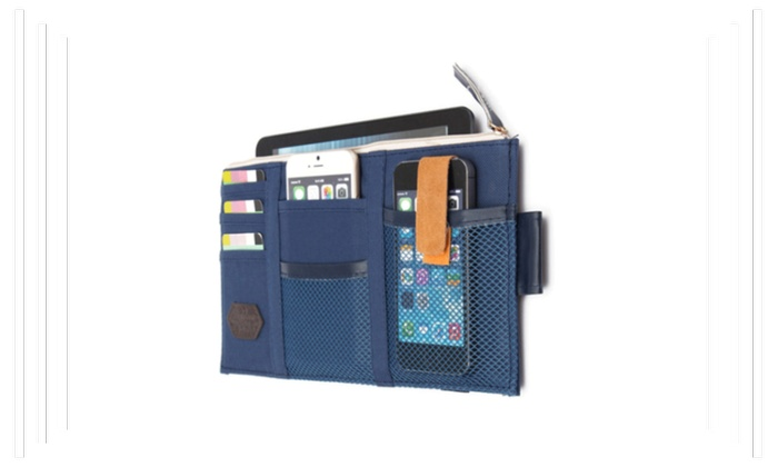 Credit Card Oganizer Bag for Auto Sun Visor Features
