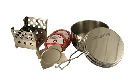 QuickStove Cook Kit (Stove, Pot, Fuel Disks) ed1107f5-e55c-4cd8-a656-d0f42314abd5