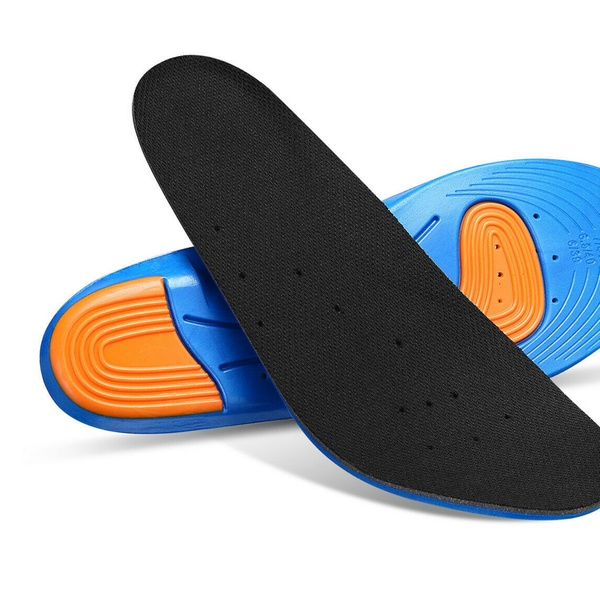 1pair Gel Orthotic Sport Running Insoles Insert Shoe Pad Arch Support Cushion