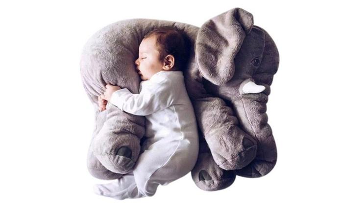 Elephant Plush Pillow Sleeping Pillow Stuffed Animal Toys Groupon